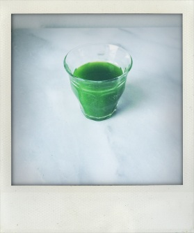 parsley martini